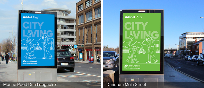 Adshel Plus Dun Laoghaire and Dundrum