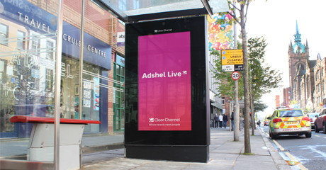 Adshel Live Roadside Launches in NI