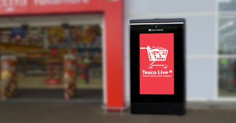 Clear Channel Ireland wins Tesco contract to install digital screens nationwide