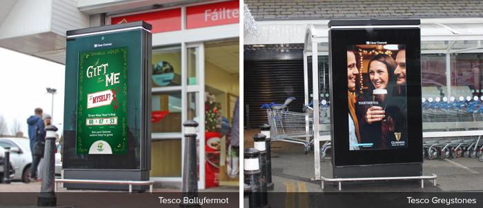 Tesco Ballyfermot & Tesco Greystones
