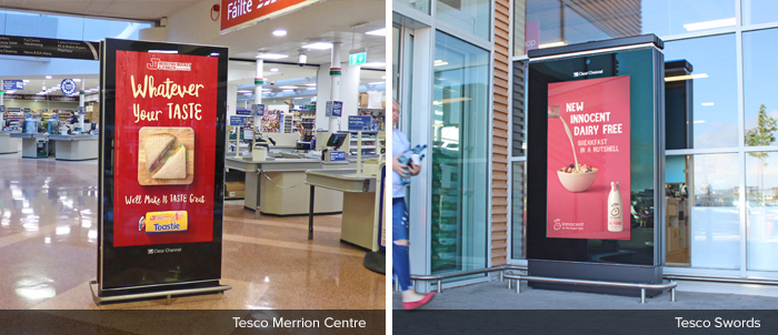 Tesco Live Merrion Centre & Swords